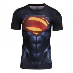 Компрессионная футболка Superman