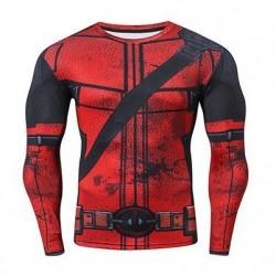 Компрессионная кофта Deadpool